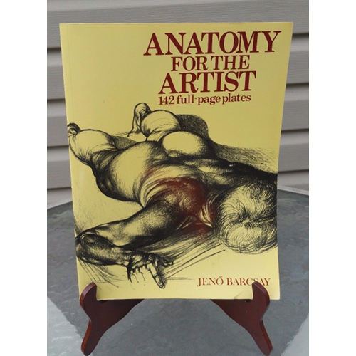 Anatomy For the Artist: Drawings and Text by Jeno Barcsay