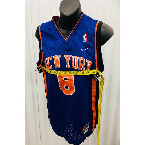 big sale 4990c ca0cd Latrell Sprewell New York Knicks Youth NBA Nike Sewn JERSEY LARGE