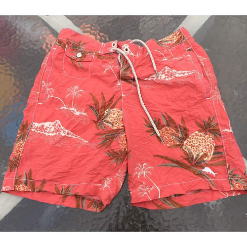 8466cf7e68923 Men s Tommy Bahama Relax Floral Swim Trunks Shorts-Size S. Touch to zoom