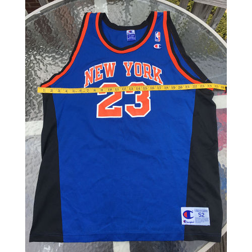 cd2e9ceb089 New York Knicks Marcus Camby NBA Jersey 2xl Champion Vintage 52 Size 2xl  chest