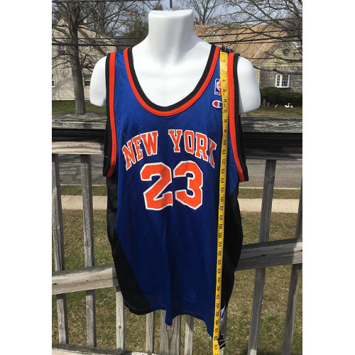 384f162d9d9 New York Knicks Marcus Camby NBA Jersey 2xl Champion Vintage 52 Size 2xl  measured