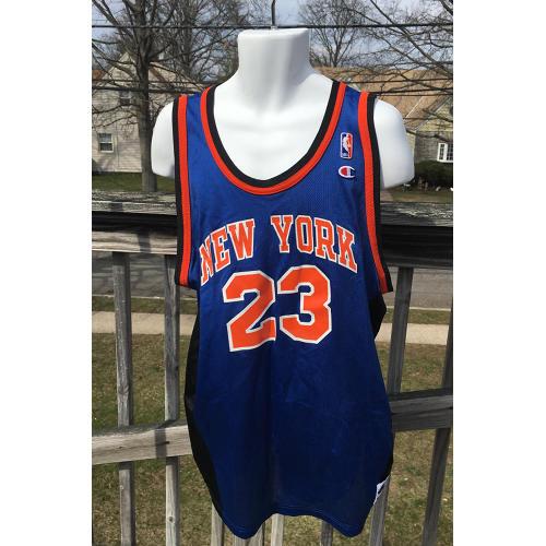 b18fa76b683 New York Knicks Marcus Camby NBA Jersey 2xl Champion Vintage 52 Size 2xl  tag2. Home   Men   Top
