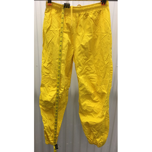 a4132c34a Polo Sport Track Pants Mens S Joggers Yellow 90s Ralph Lauren Zip Bottom  length