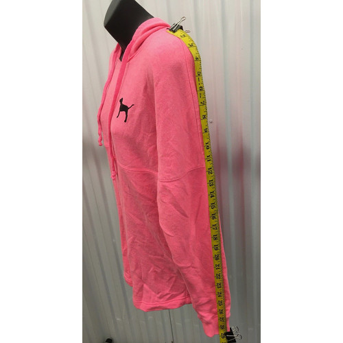09a2dec6ff0a Victoria's Secret Love Pink (Pink) dog full zip hoodie Animal print size XS  sleeve