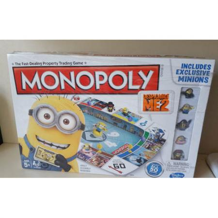 Monopoly Game Despicable Me Edition 653569842972