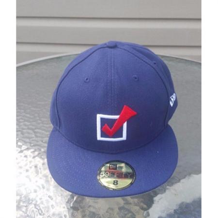 New Era Democrat Vote Check Cap size 8 63.5cm