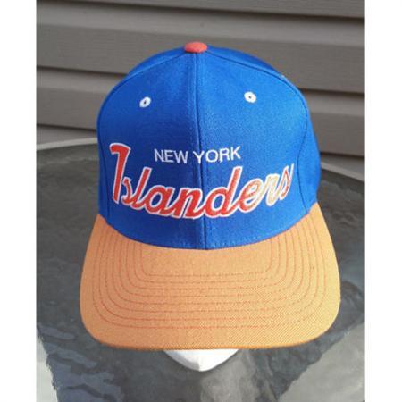 New York Islanders Mitchell & Ness Snapback (NHL) One Size Original Logo Rare