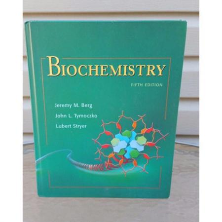 Biochemistry (Chapters 1-34) 5th Edition by Jeremy M. Berg, John L. Tymoczko 9780716730514