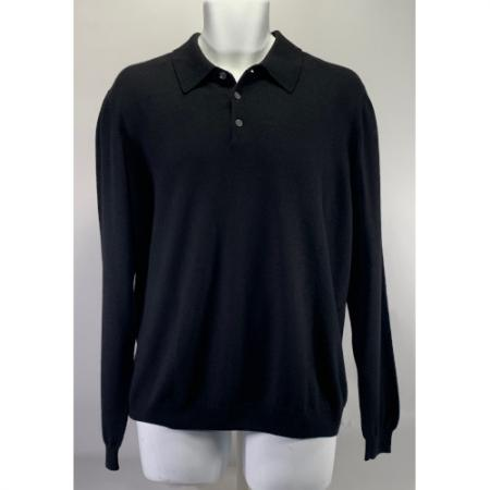 Brooks Brothers Long Sleeve Merino Wool Sweater