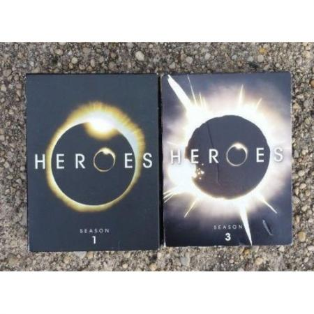 Heroes - Season 1 & 3 (DVD, 2007) Set 13 Disc Mint