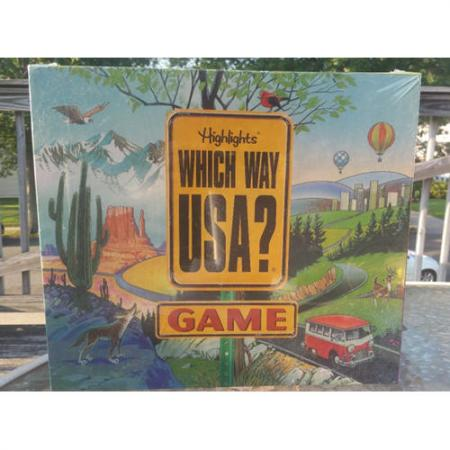 Highlights Which Way USA? Game