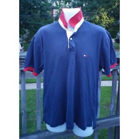 Vintage Tommy Hilfiger Short Sleeve Polo Size Large front
