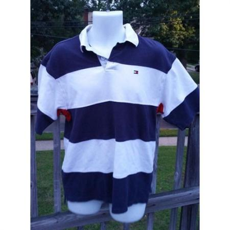 Vintage Tommy Hilfiger Short Sleeve Polo Size XL front