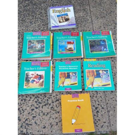 Houghton Mifflin Reading Teachers Resource, Edition-- Homeschool lot 8