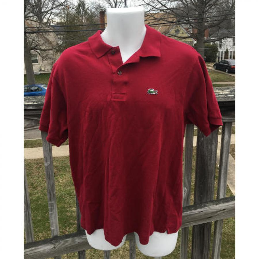 Lacoste Polo Mens Shirt Size 6 Made In France