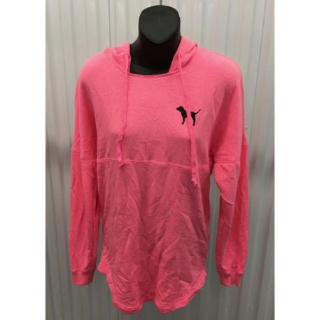 Victoria's Secret Love Pink (Pink) dog full zip hoodie Animal print size XS