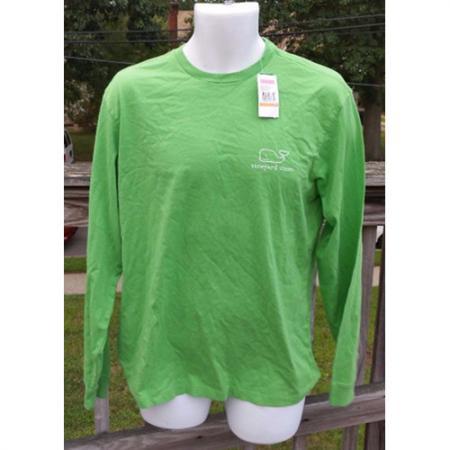 Vineyard Vines Long Sleeve Vintage Whale Graphic T Shirt