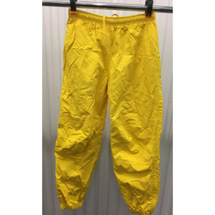 1fd85d204 Polo Sport Track Pants Mens S Joggers Yellow 90s Ralph Lauren Zip Bottom.  Touch to zoom