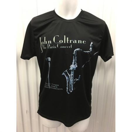 John Coltrane The Paris Concert Album Cover T-Shirt Sz small