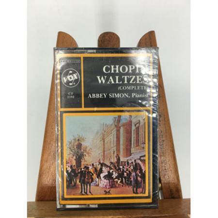 Chopin Waltzes complete Abbey Simon, PianistCassette Tape
