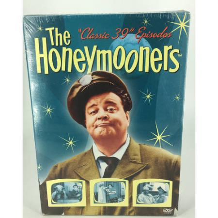 The Honeymooners - Complete Classic 39 Episodes 5 Discs DVD TV Series097368792043
