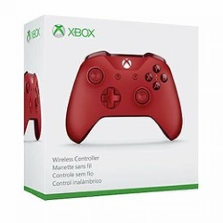 Microsoft WL3-00027 Xbox One Wireless Controller Red 889842161076
