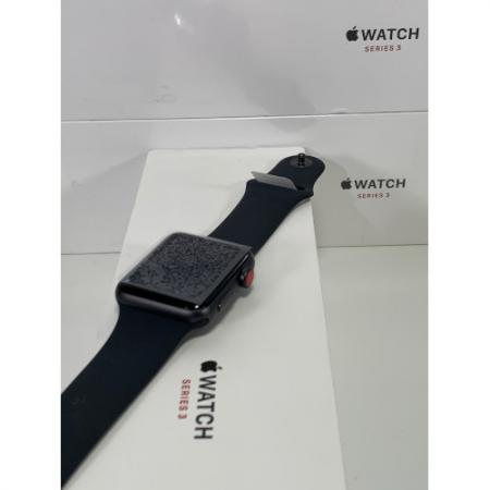 Apple Watch Series 3 (Cellular + GPS, 42 mm) Space Gray MTGT2LLA f