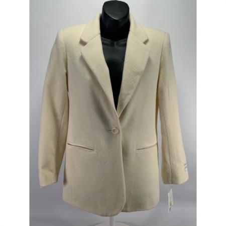 Lord & Taylor Petite Women Blazer Wool Cashmere