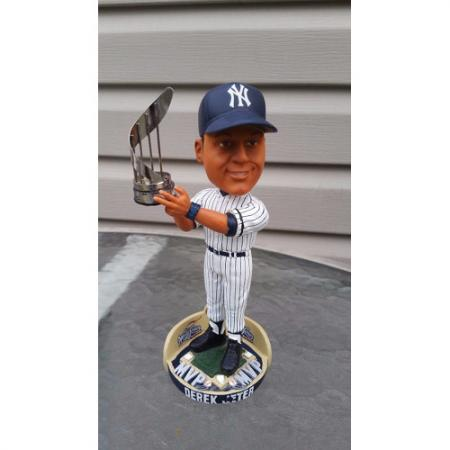 DEREK JETER New York Yankees Bobble Head 2000 World Series MVP Special Edition